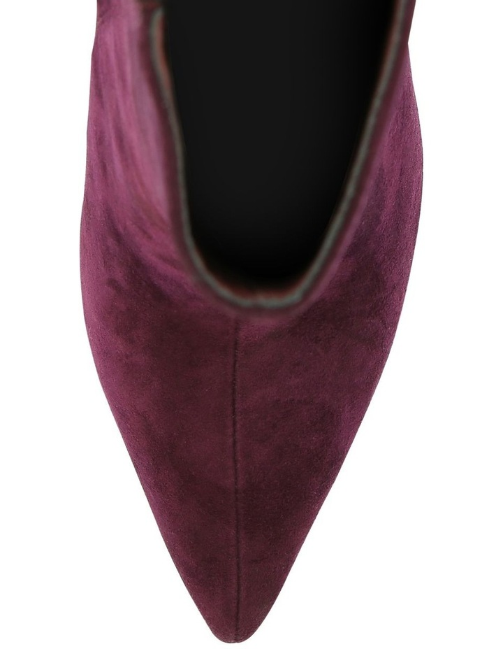 Mae Burgundy Suede Boot image 3
