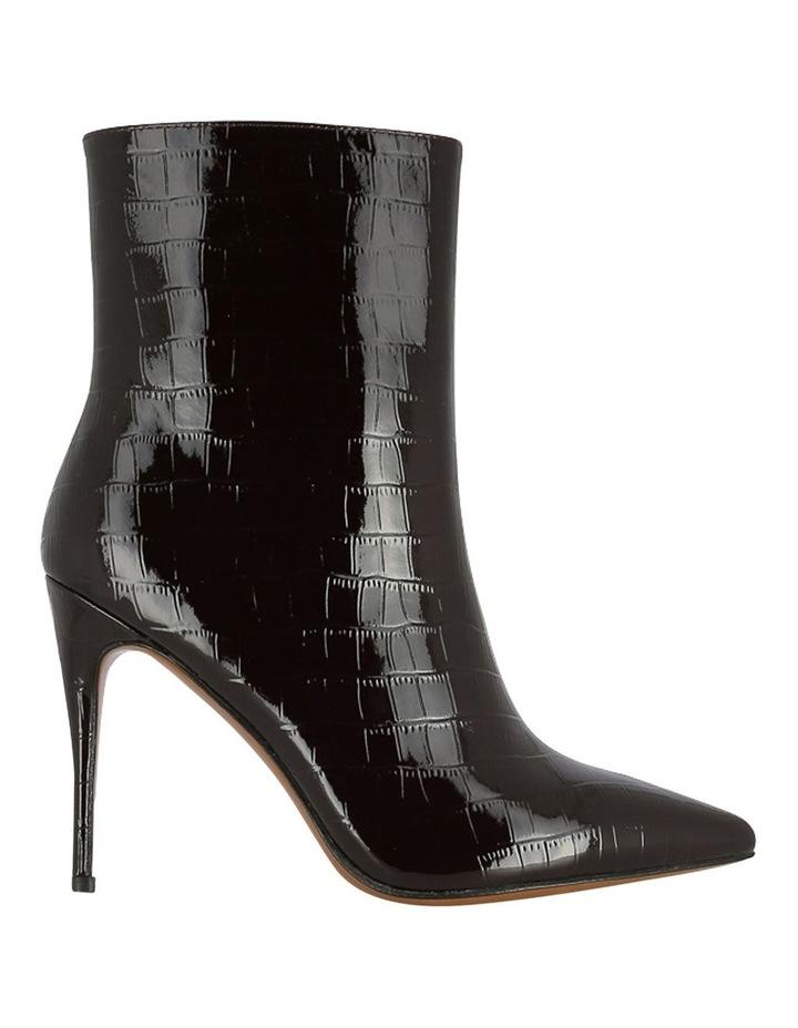 Mae Burgundy Croc Boot image 1