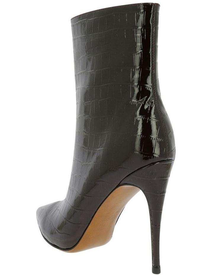 Mae Burgundy Croc Boot image 2