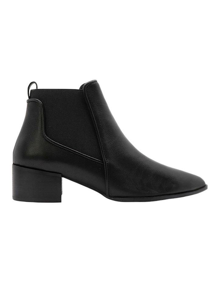 Lyon Black Leather Boot image 1