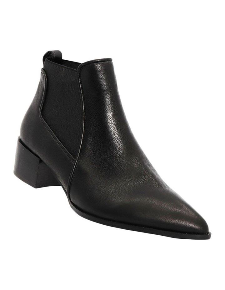 Lyon Black Leather Boot image 2