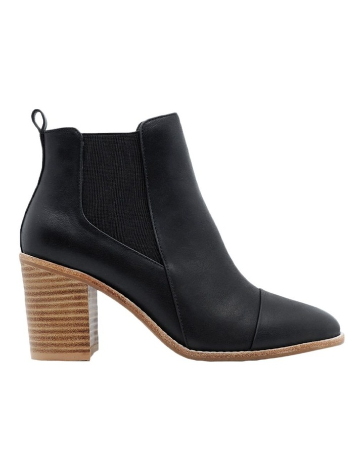 Kenley Black Leather Boot image 1