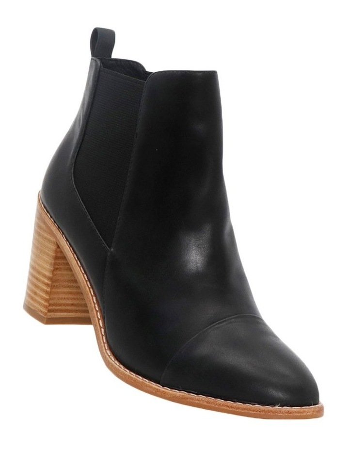 Kenley Black Leather Boot image 2
