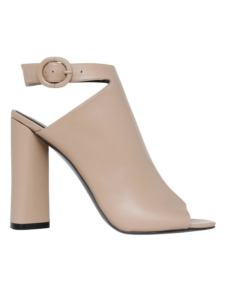 Gigi Beige Leather Pump image 1