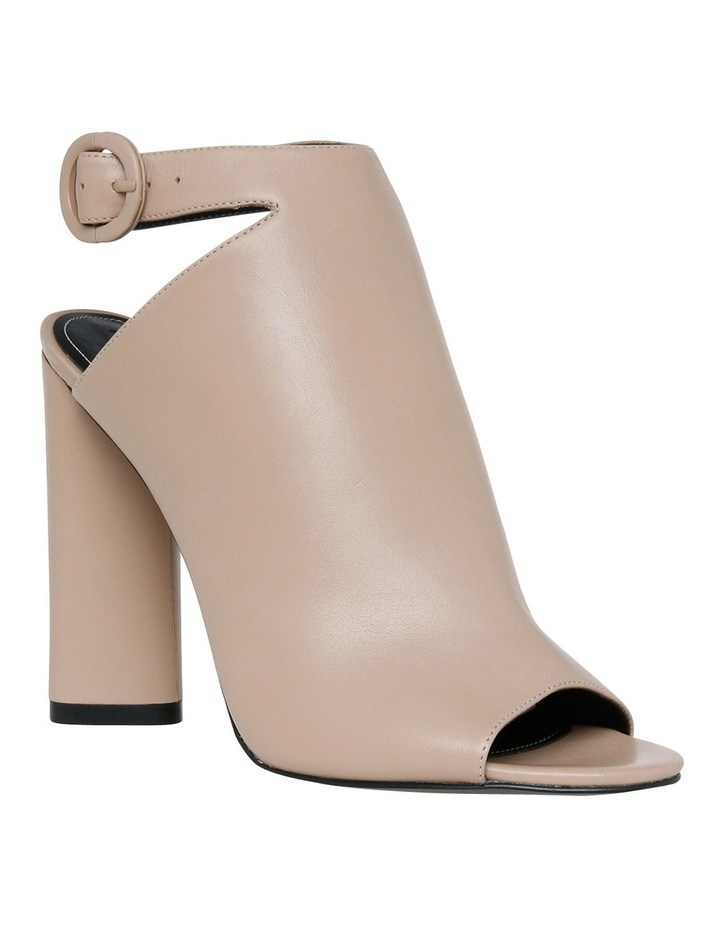 Gigi Beige Leather Pump image 2