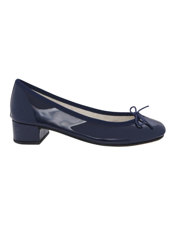Camille Navy Patent Pump image 1