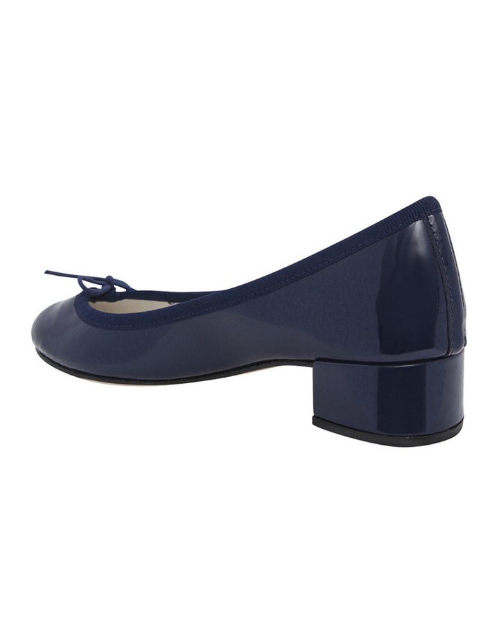 Camille Navy Patent Pump image 2