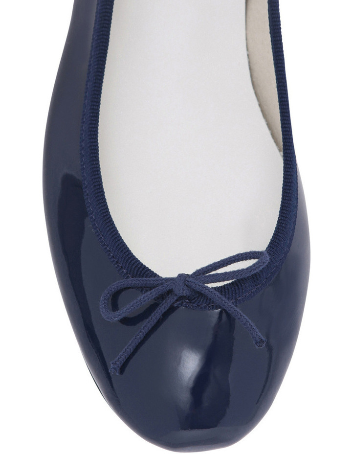 Camille Navy Patent Pump image 3