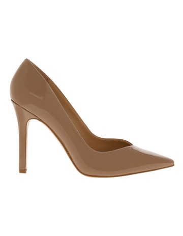 Guess BeCool Nude Patent Heel Shoe d807040f0