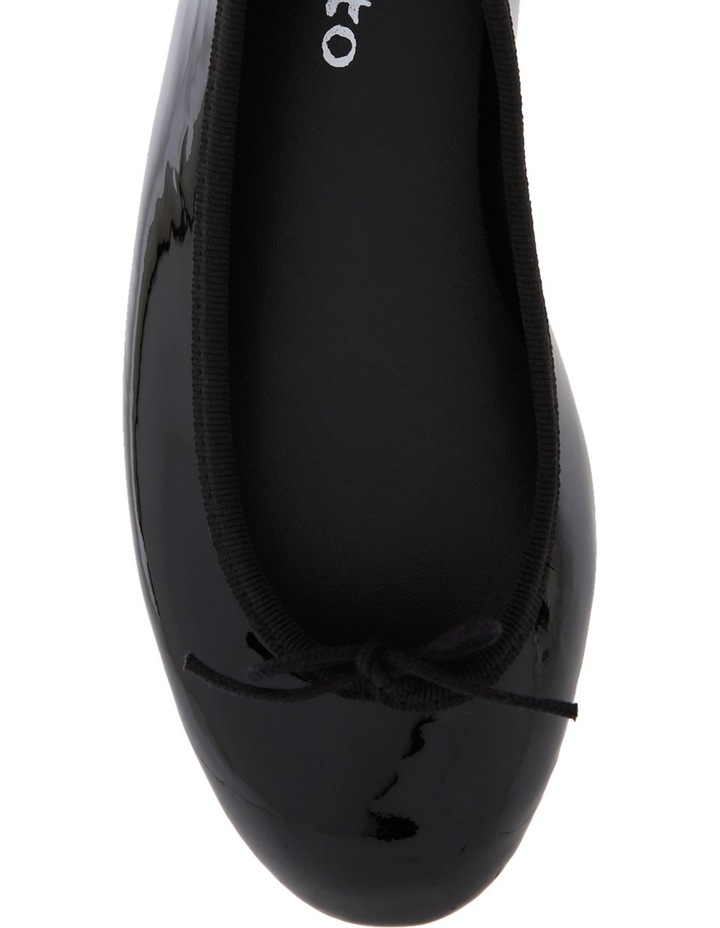 Lili Lux Black Patent Pump V1790 image 3