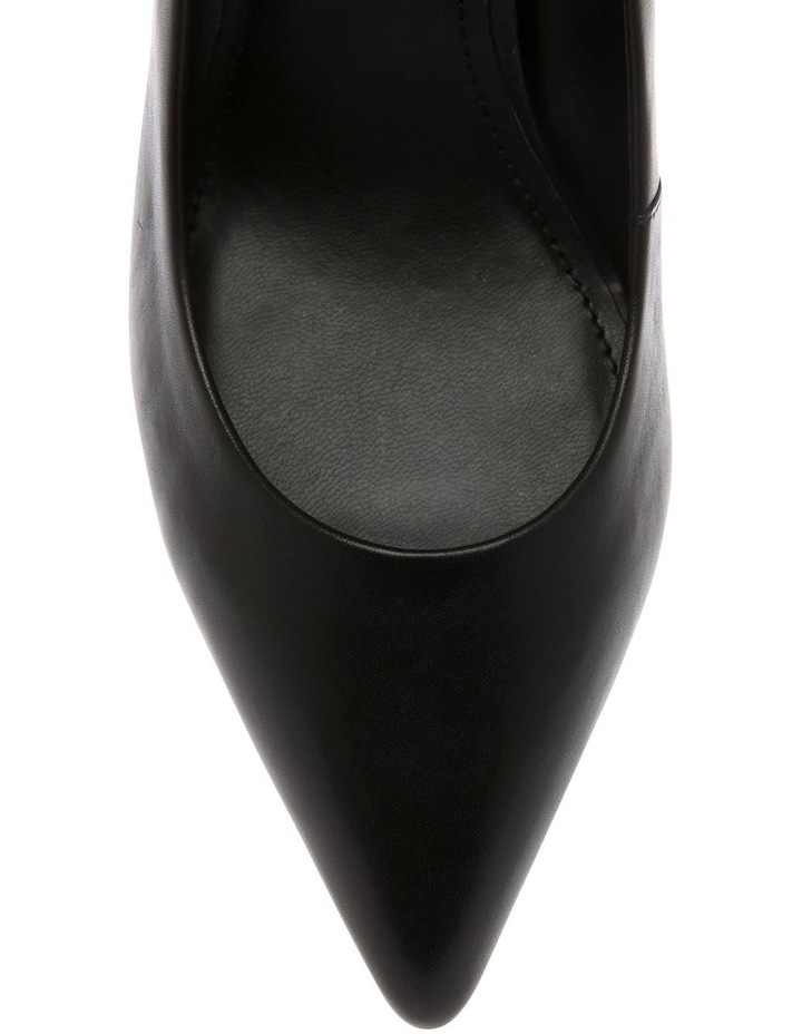 K3906352 Lexi Black Nappa Heeled Shoe image 4