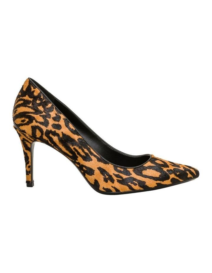 Gayle Haircalf Natural Heeled Shoe image 1