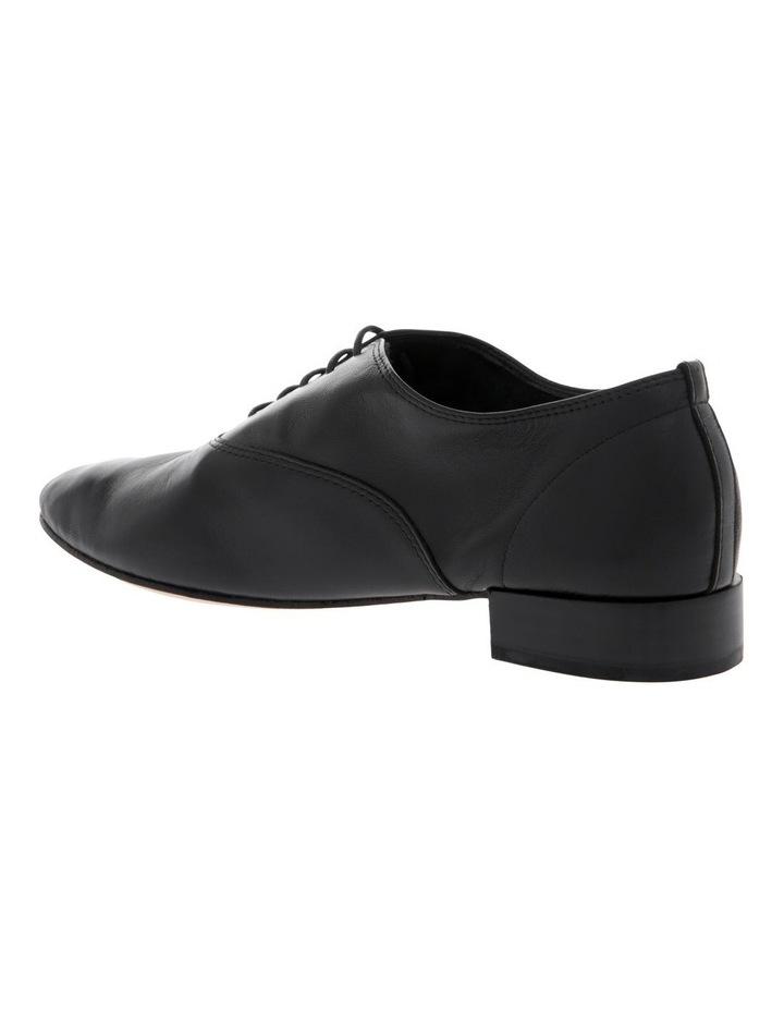 Zizi Black Flat Shoe image 2