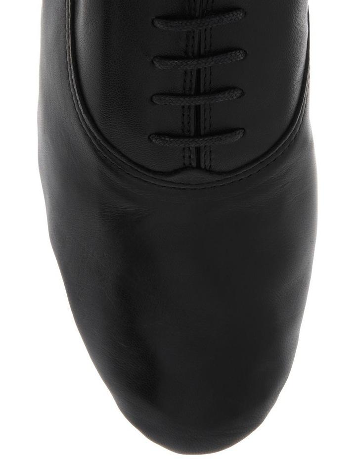 Zizi Black Flat Shoe image 3