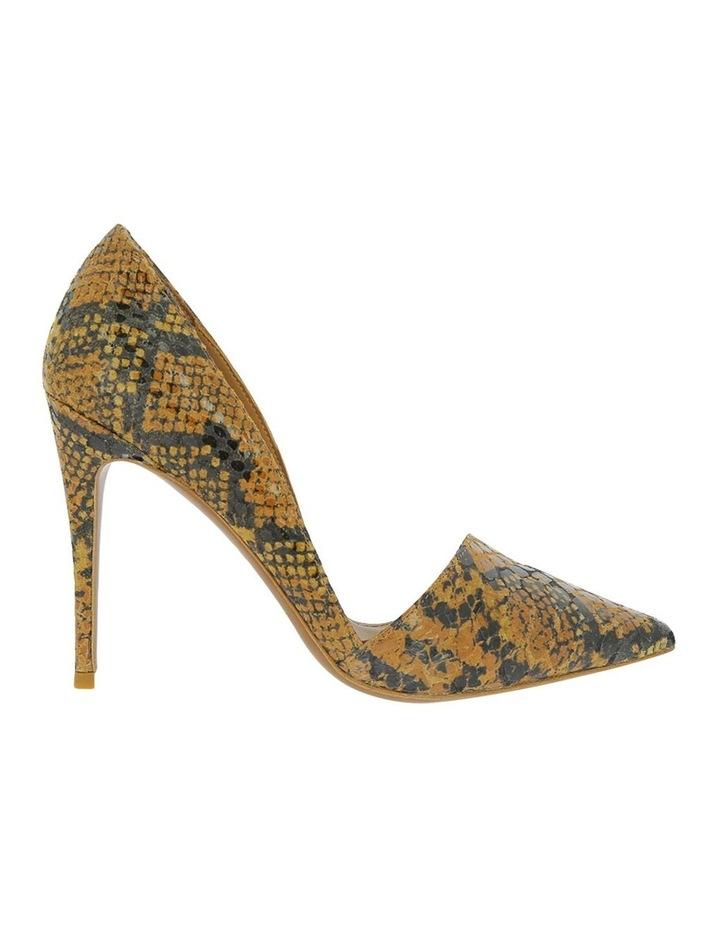 Iris Tan Snake Heeled Shoe image 1
