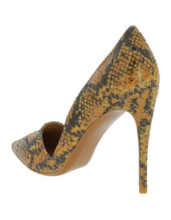 Iris Tan Snake Heeled Shoe image 2