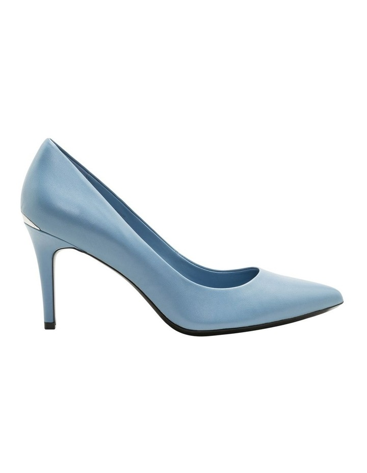 Gayle Stone Blue Heeled Shoes image 1