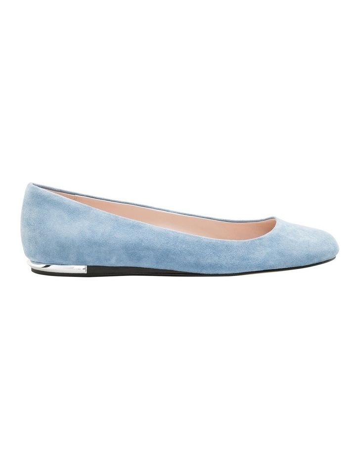Kosi Stone Blue Flat Shoes image 1