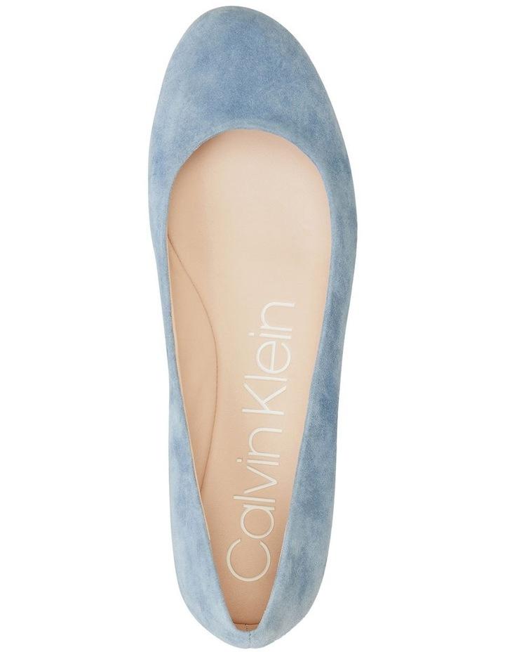 Kosi Stone Blue Flat Shoes image 2