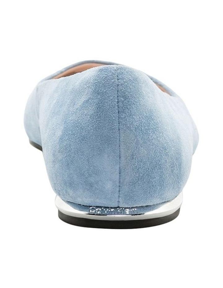 Kosi Stone Blue Flat Shoes image 3