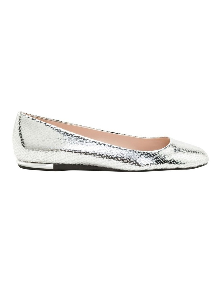 Kosi Silver Flat Shoes image 1