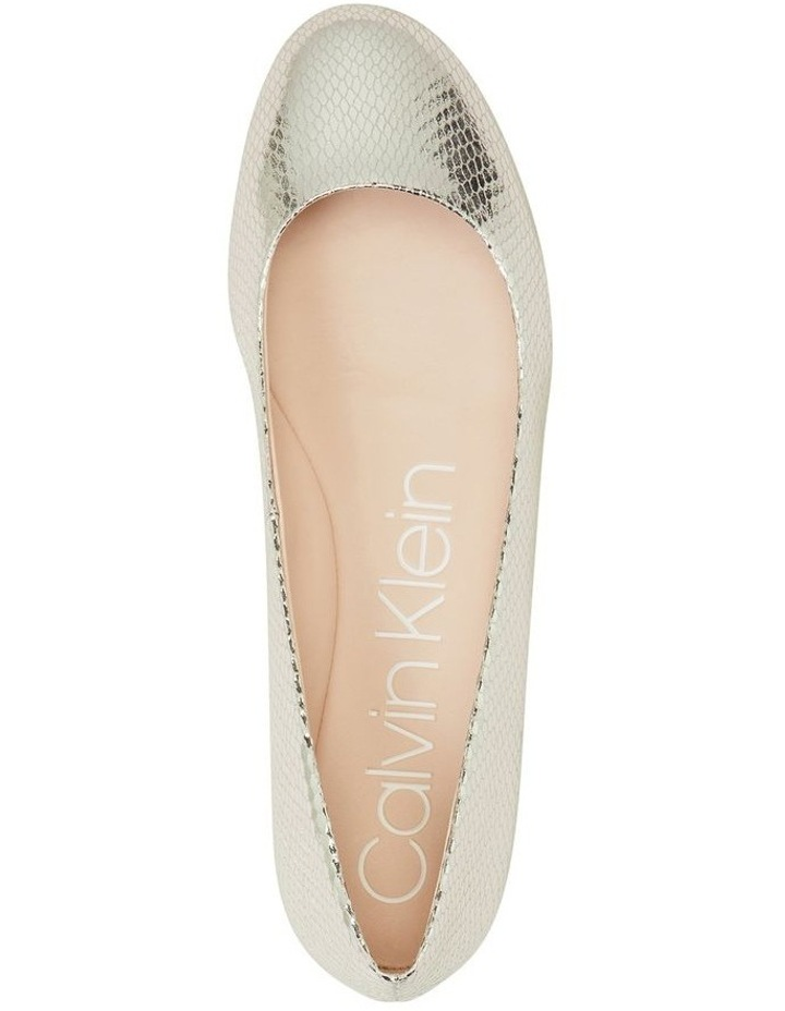 Kosi Silver Flat Shoes image 3