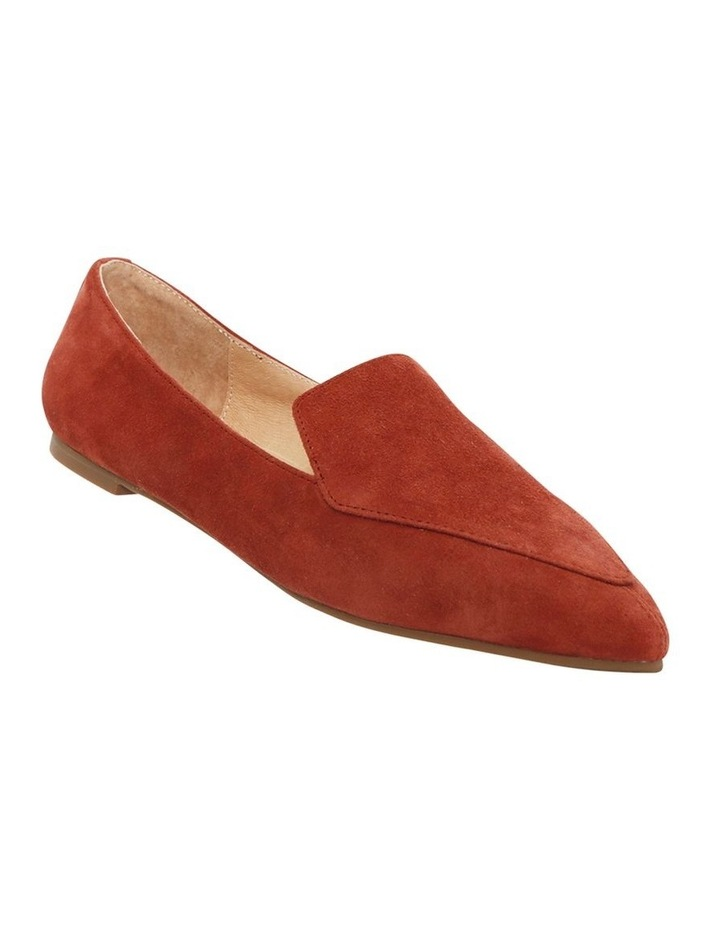 Marco Burnt Rose Suede Flat Shoes image 2