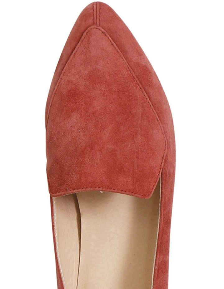 Marco Burnt Rose Suede Flat Shoes image 3