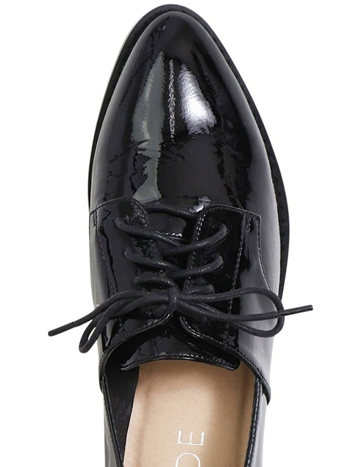Marley Black Patent Leather Flat Shoes image 3