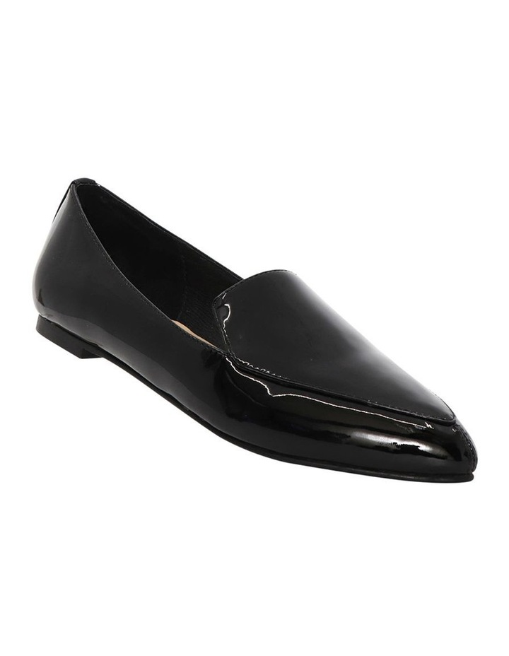 Marco Black Patent Leather Flat Shoes image 2