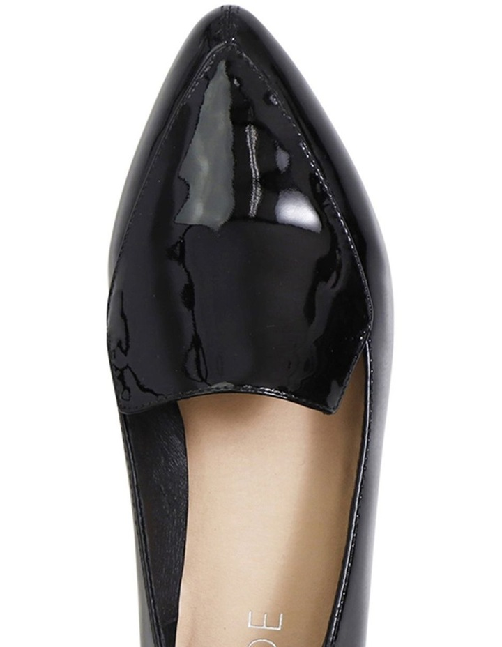 Marco Black Patent Leather Flat Shoes image 3