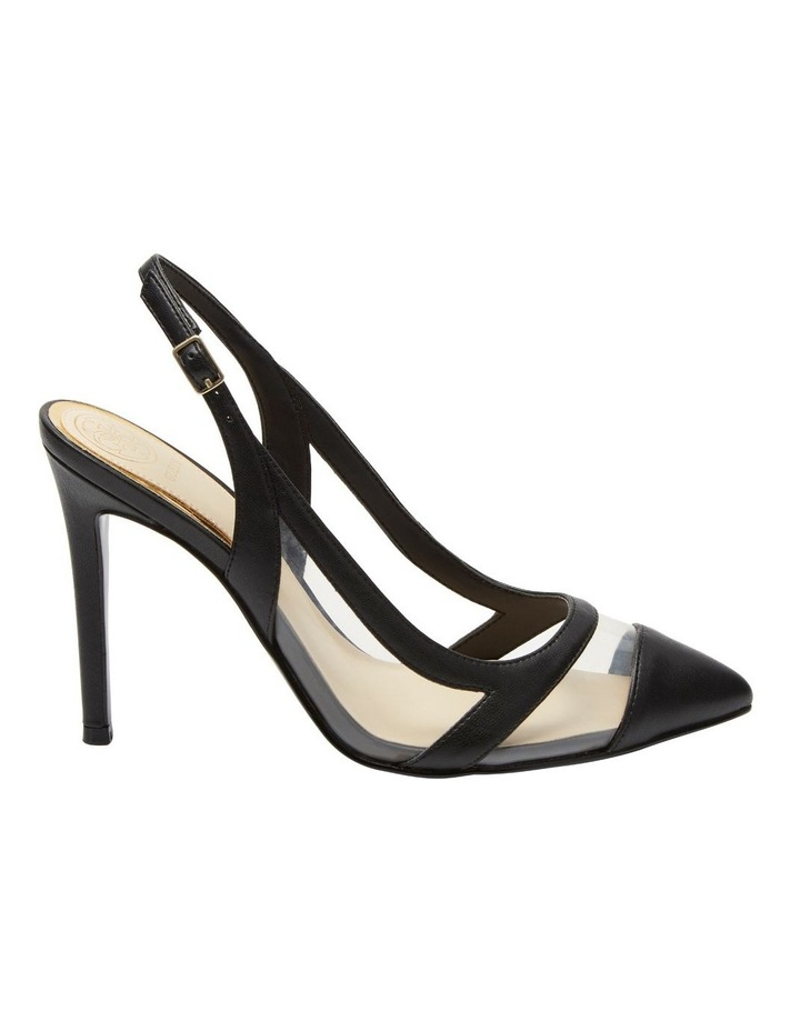 Chaffee Black/Clear Heeled Shoes image 1