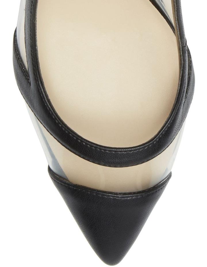 Chaffee Black/Clear Heeled Shoes image 3