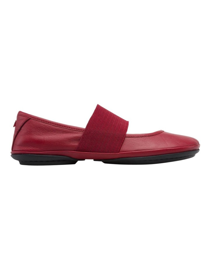 Right Nina 21595175 Medium Red Flat Shoes image 1