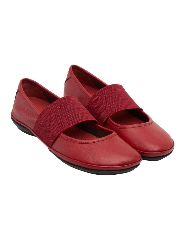 Right Nina 21595175 Medium Red Flat Shoes image 2