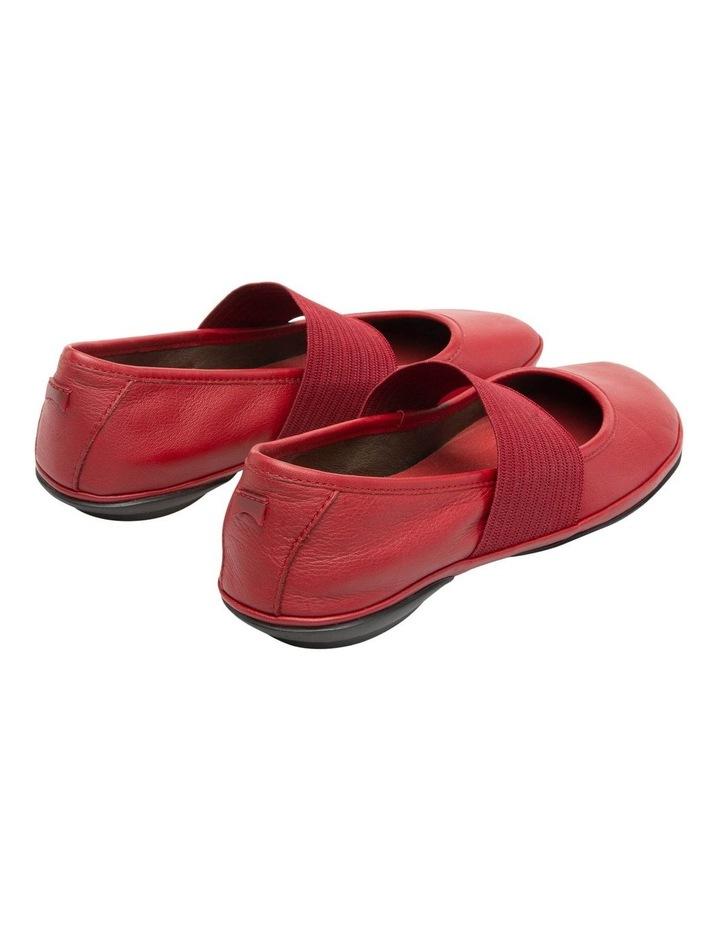Right Nina 21595175 Medium Red Flat Shoes image 5