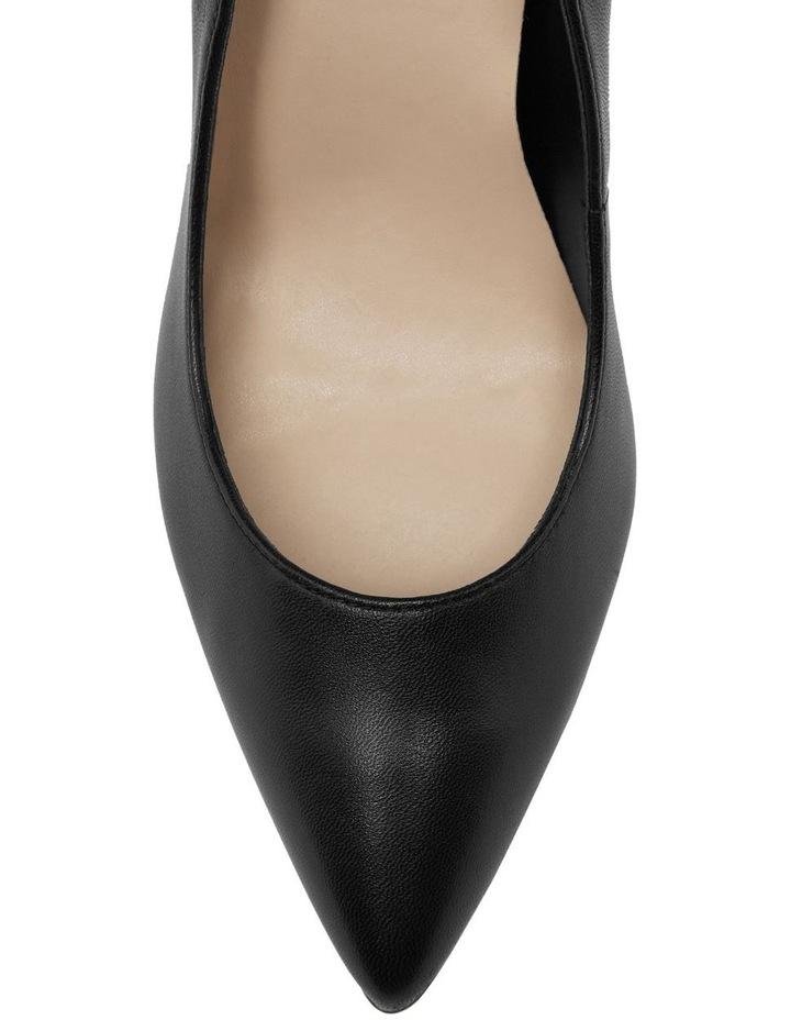 CREW8 Black Pump Heels image 2