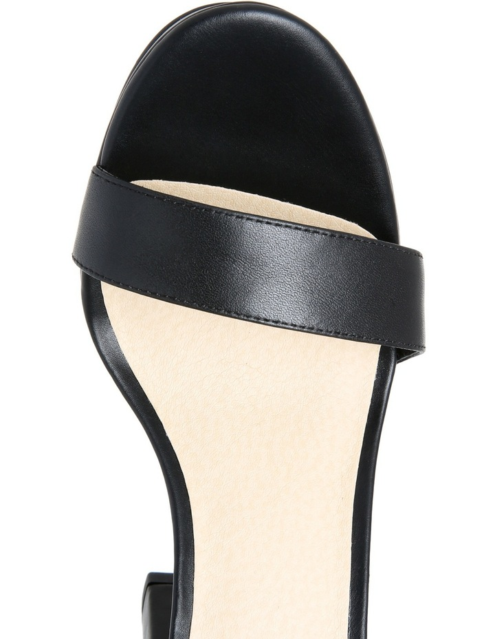 Flamenco Black Leather Sandal image 4