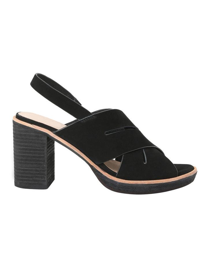 Amiga Heel Black Sandal image 1