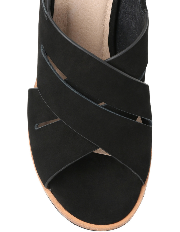 Amiga Heel Black Sandal image 4