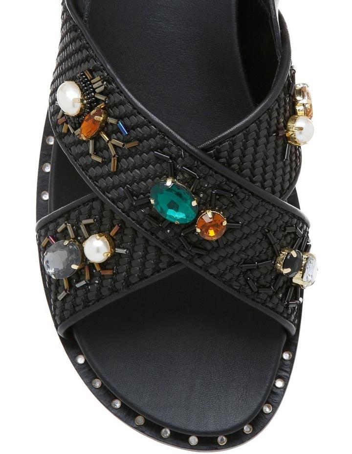 Maya Black Sandal image 3