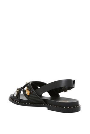Ash - Maya Black Sandal