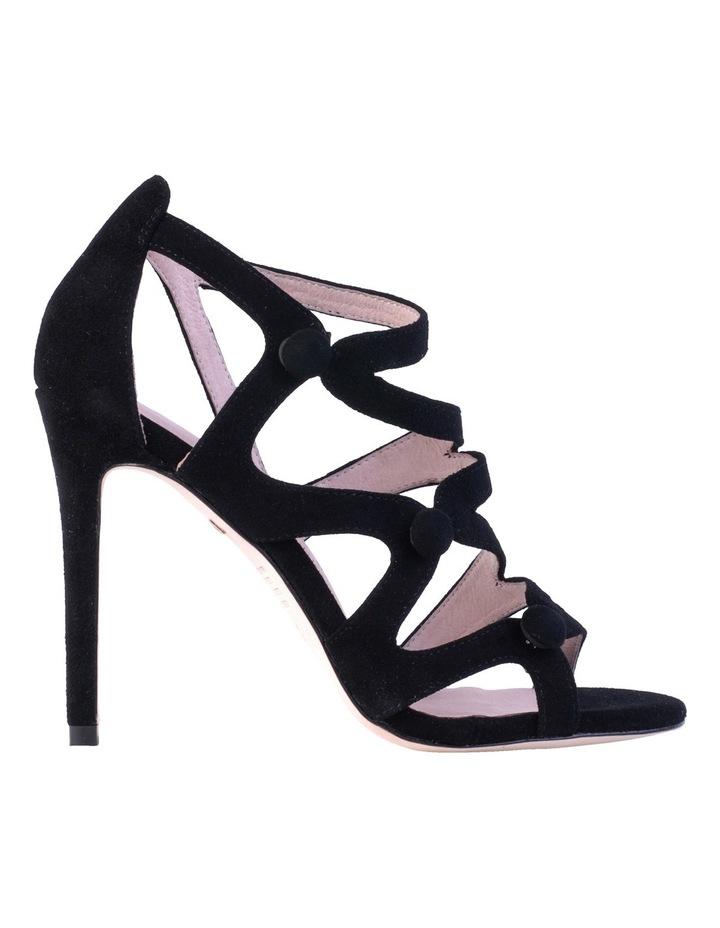 Ivy Black Suede Sandal image 1