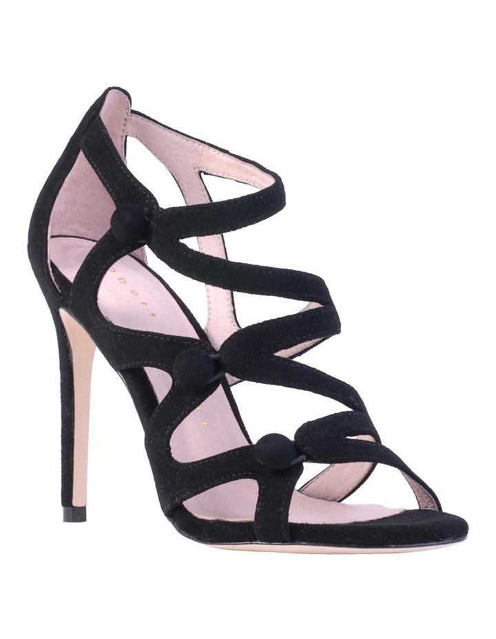 Ivy Black Suede Sandal image 2