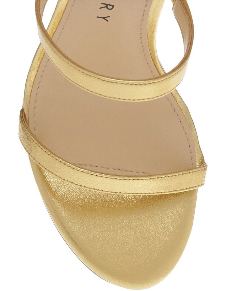 The Vilan Gold Sandal image 3