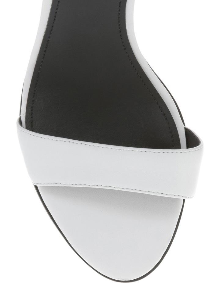 Bamboo White Sandal image 3