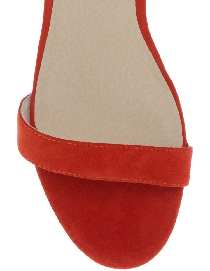 Casey Poppy Suede Sandal image 3