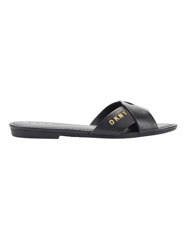 K2933660 Kira Black Flat Sandal image 1