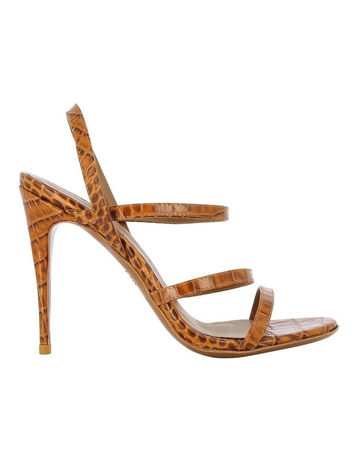 Dot Tan Croc Sandal image 1