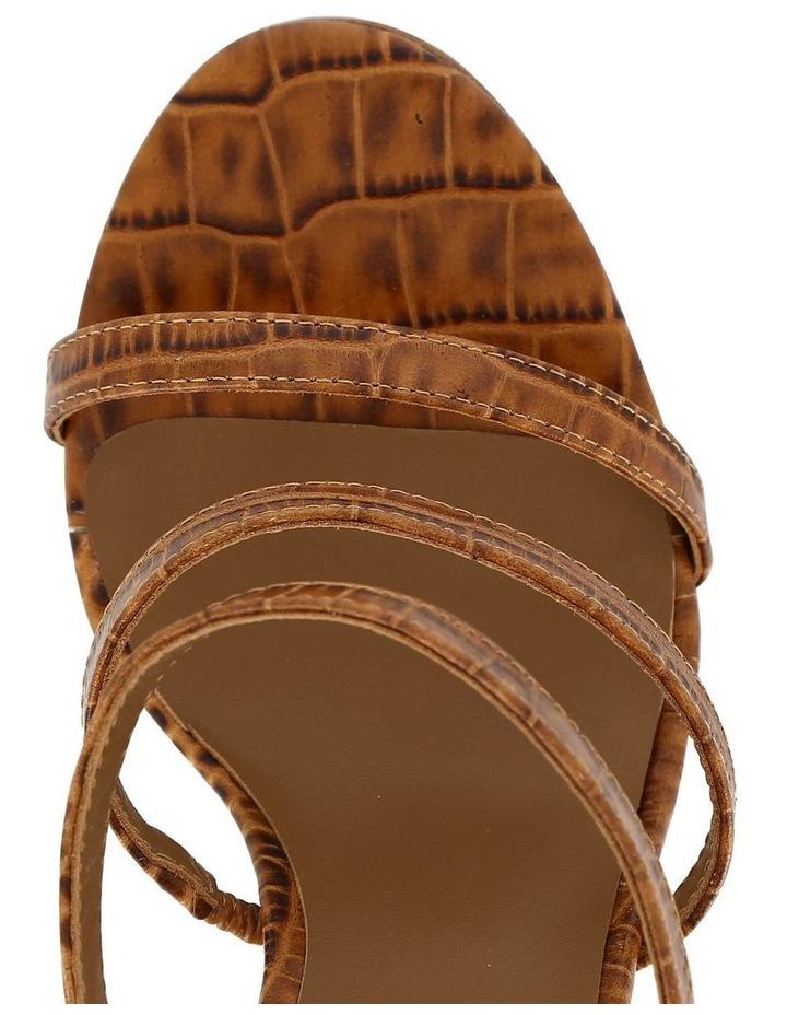 Dot Tan Croc Sandal image 3